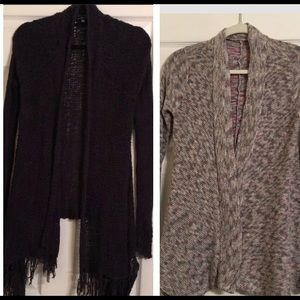 Two American Eagle XS Cardigans